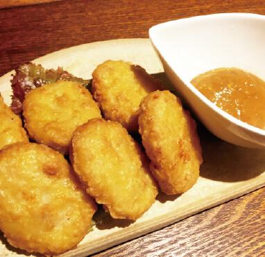 チキンナゲット味噌マスタードソース/400円