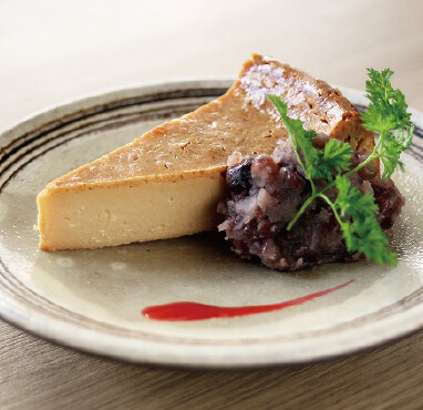 味噌ベイクドチーズケーキ/450円