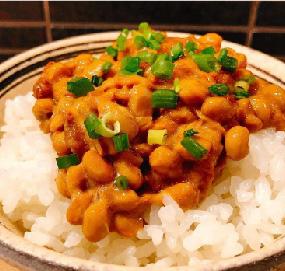 肉味噌納豆ご飯