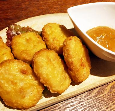 チキンナゲット味噌マスタードソース/480円