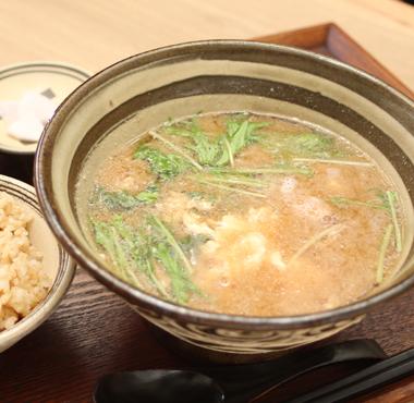 沖縄風具だくさん味噌汁